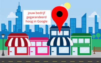 Hoger in Google?